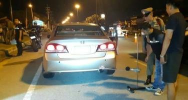 Полиция Паттайи проверяет громкость выхлопа. Лимит - 95 дБ.